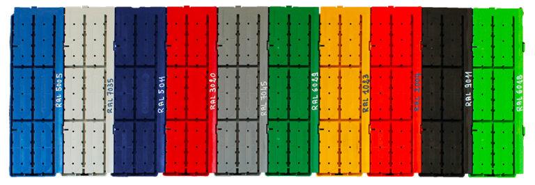 Composystem pavimento colorato